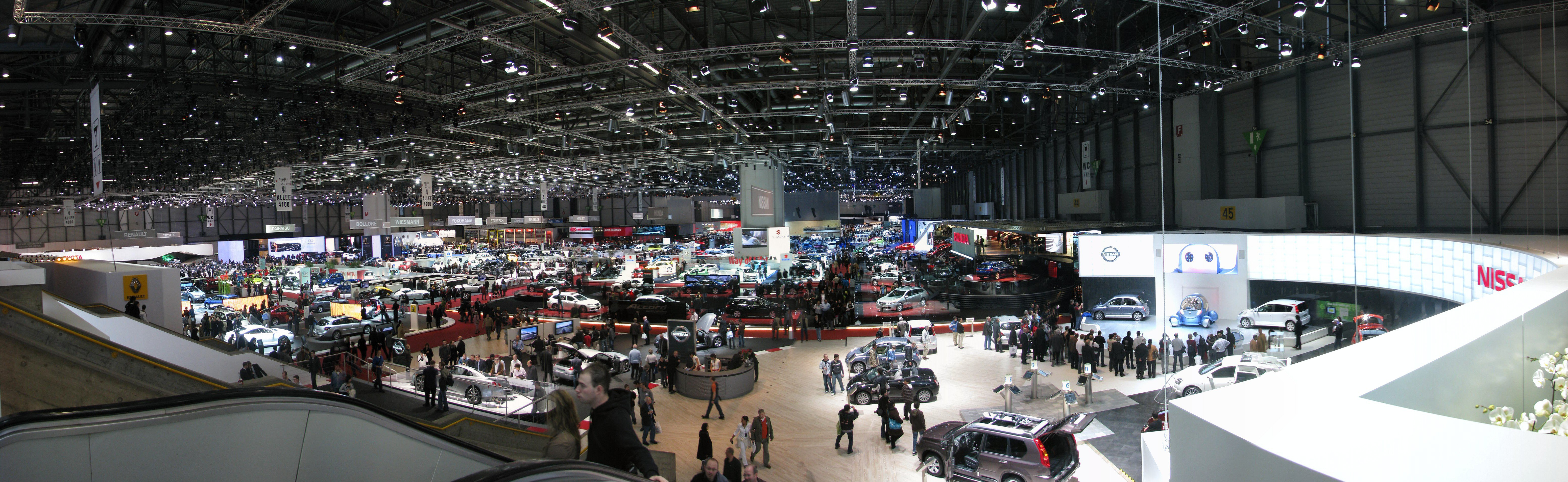 Panorama Geneva Car Exhibition - Exhibition car