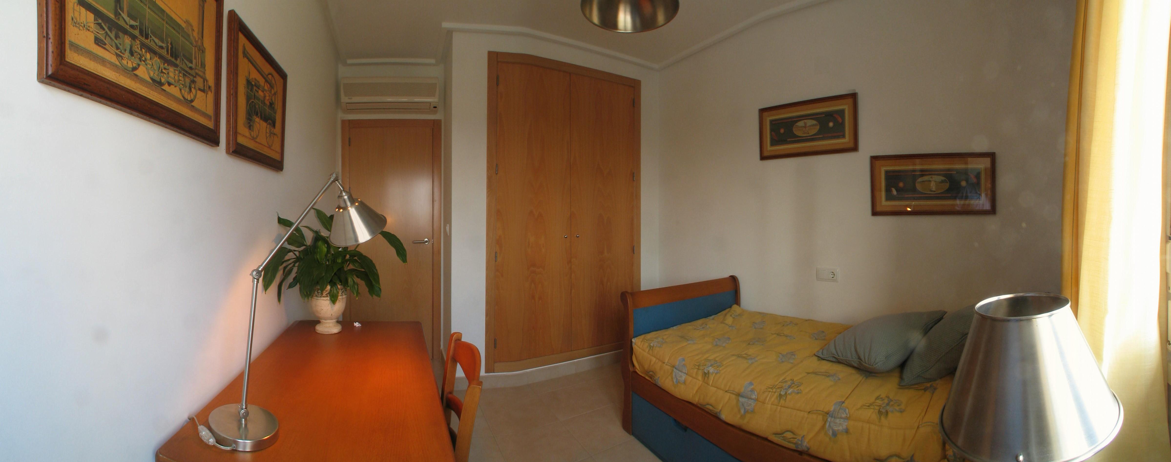 Golf spanien ferienwohnsitz haus schlafzimmer - Panoramabild schlafzimmer ...