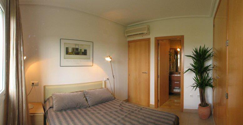 Golfimmobilie murcia spanien schlafzimmer - Panoramabild schlafzimmer ...