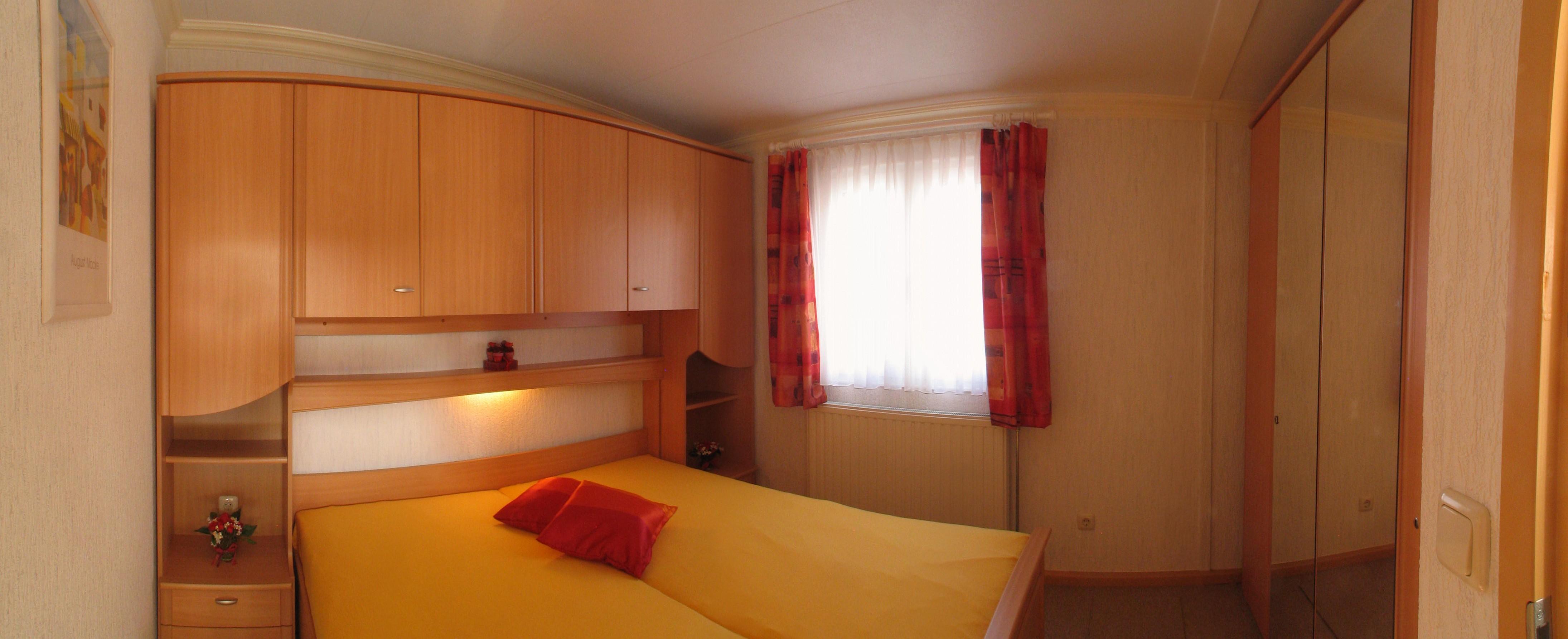 Schlafzimmer im mobilheim tobs 860x610 - Panoramabild schlafzimmer ...